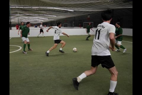Berlin football tournament
